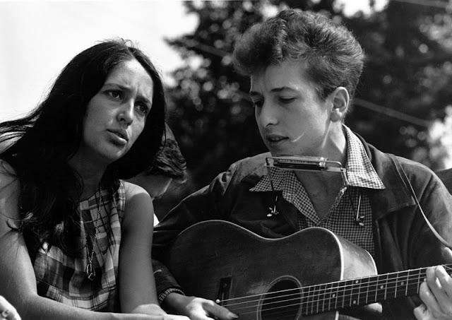 Joan Baez et Bob Dylan, 1963