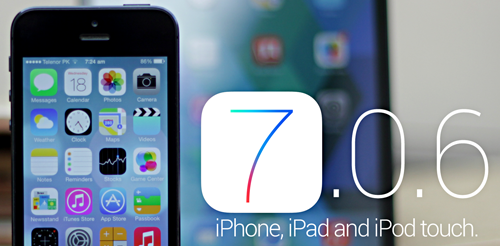 Apple iOS 7.0.6 Firmwares