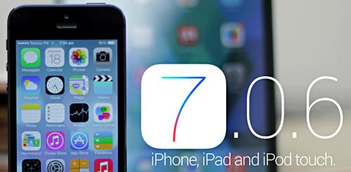 Apple iOS 7.0.6 Firmwares