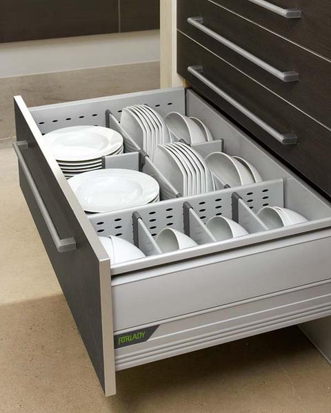 Decoraci n f cil organizar los cajones de cocina for Organizar cajones cocina