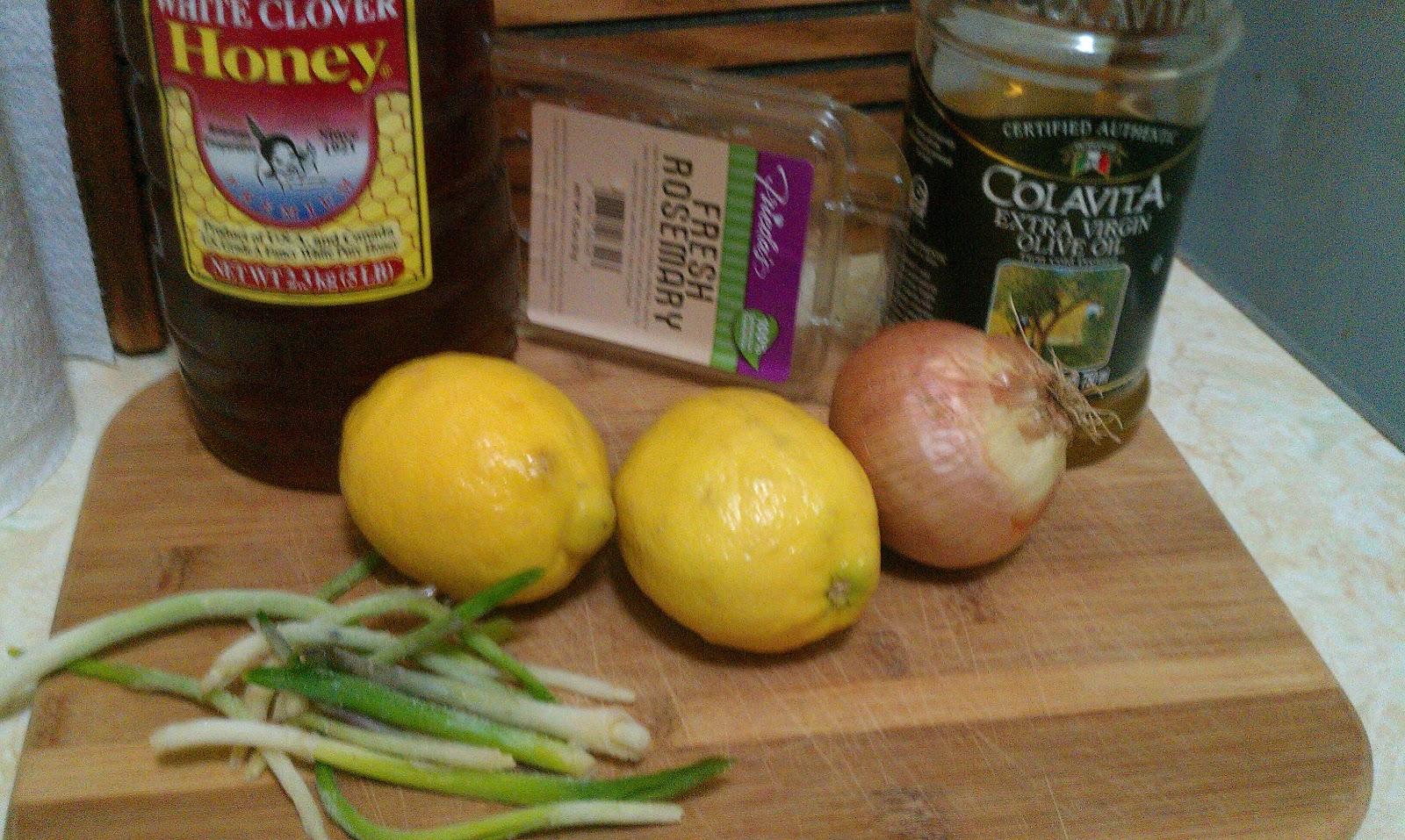 Roast Chicken with Rosemary, Lemon, and Honey | Foodie in WV