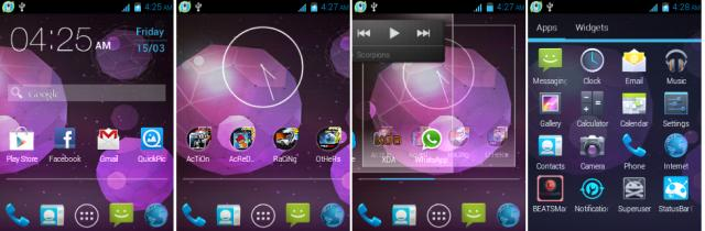 Galaxy S3 launcher Jellybean theme