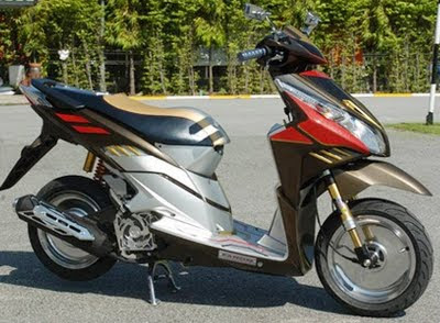 Honda Vario Techno CBS Modifikasi Racing
