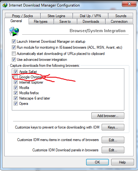Fix lỗi IDM