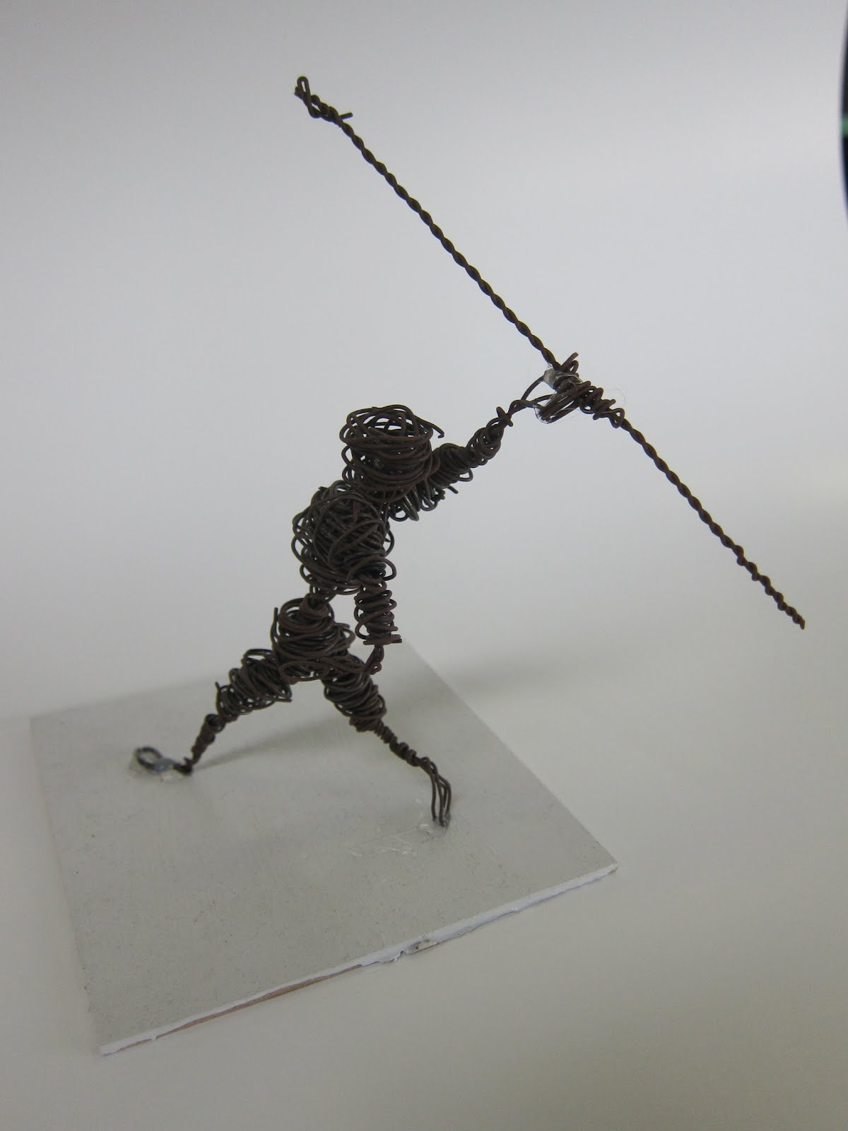 Mr.Meadows Art Class: Wire Figures in Action