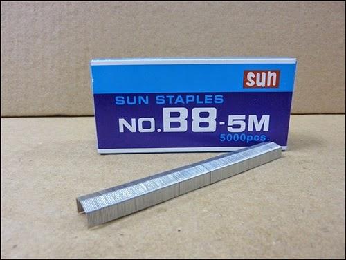 ลวดเย็บกระดาษ Sun (No.B8-5M)