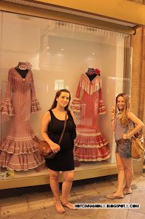 vestidos se sevillana