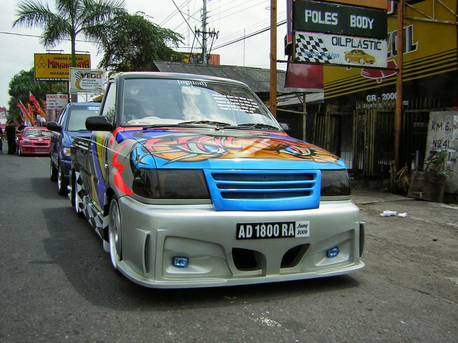 Gambar Modifikasi Toyota Kijang Pick Up Keren   Gambar Modifikasi