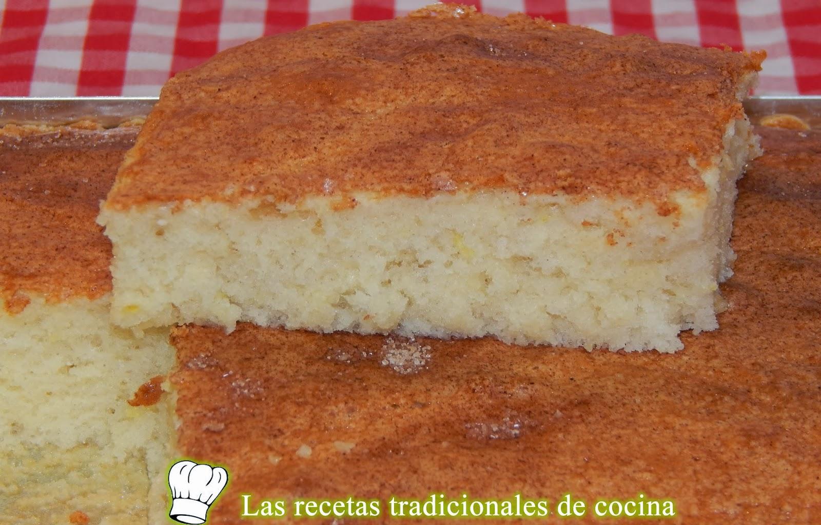 Bizcocho Con Yogur Receta Fácil