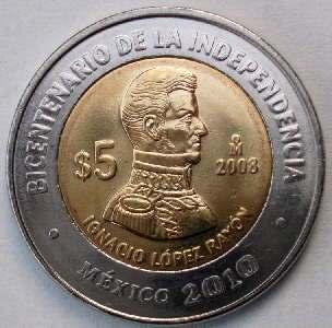 Moneda de Ignacio López Rayón