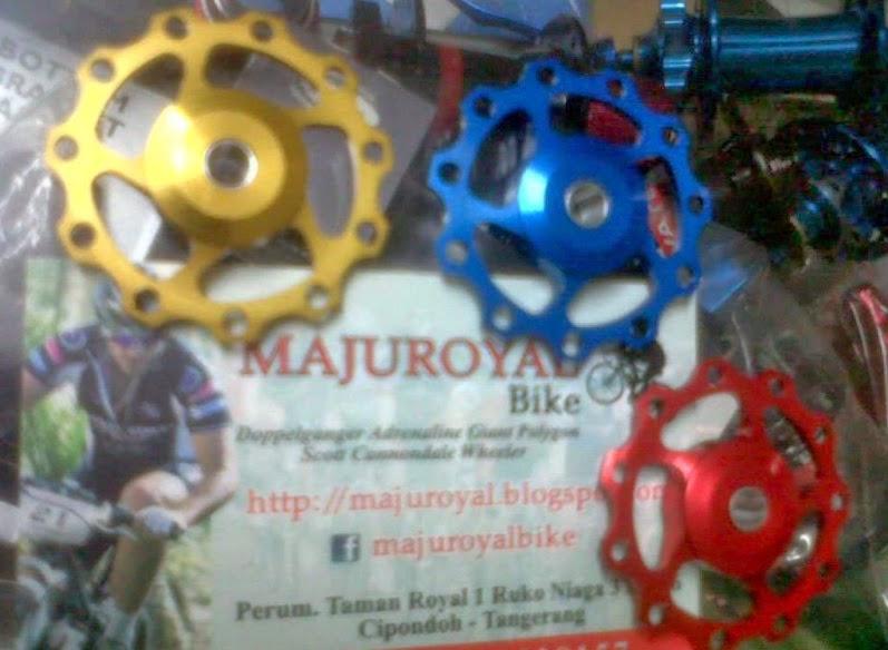 pulley aerozine bearing