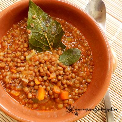 zuppa di lenticchie veloce