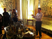 Anthony Wilson introduces Baileys Chocolat Luxe to the press