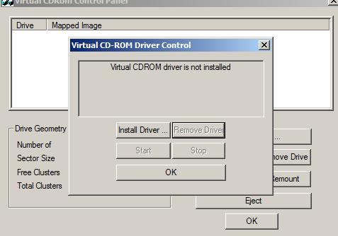 Virtual CDRom