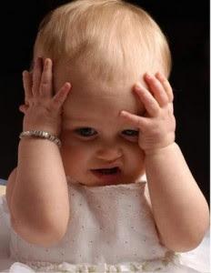 Cute Baby In Sad Mood 0757404074