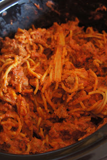 Crock Pot Spaghetti: Savory Sweet and Satisfying