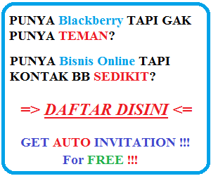 daftar pin blackberry 2014