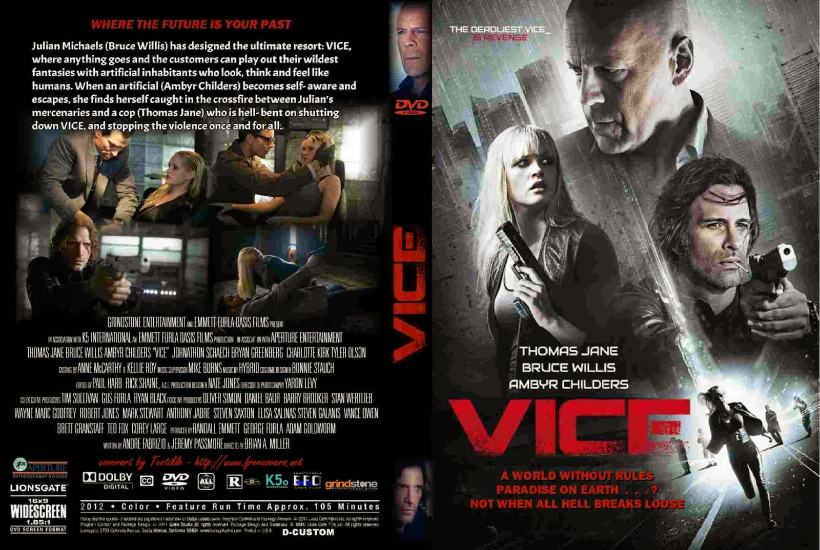 A Máquina DVD-R Vice  2015