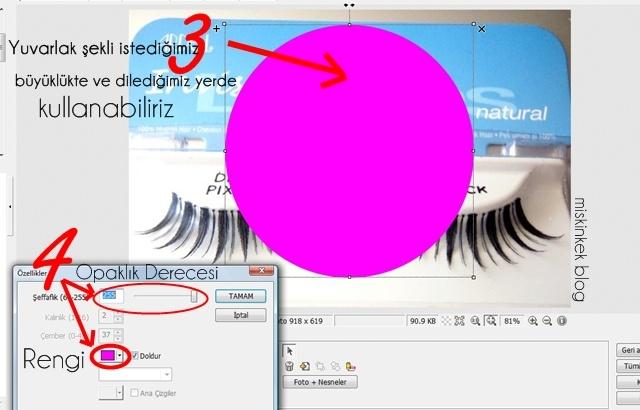 makyaj blog youtube resimlerine seffaf yuvarlak nasil yapilir