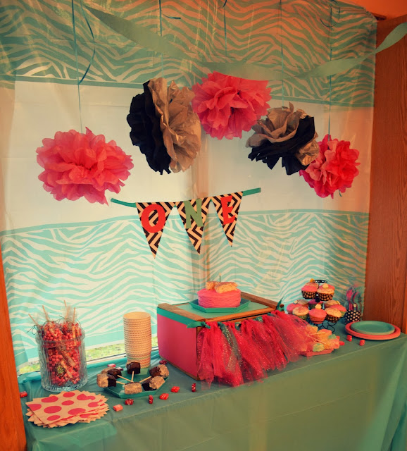 Pink and Blue 1st Birthday Party!