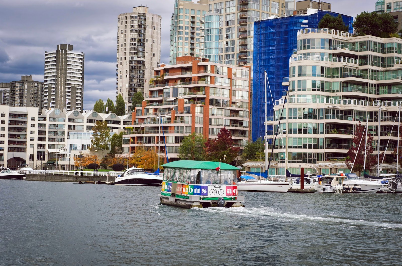 aquabus in vancouver, false creek