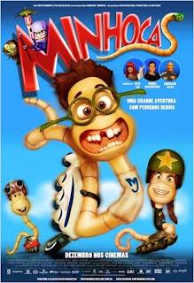 """Poster do filme """"Minhocas"""""""