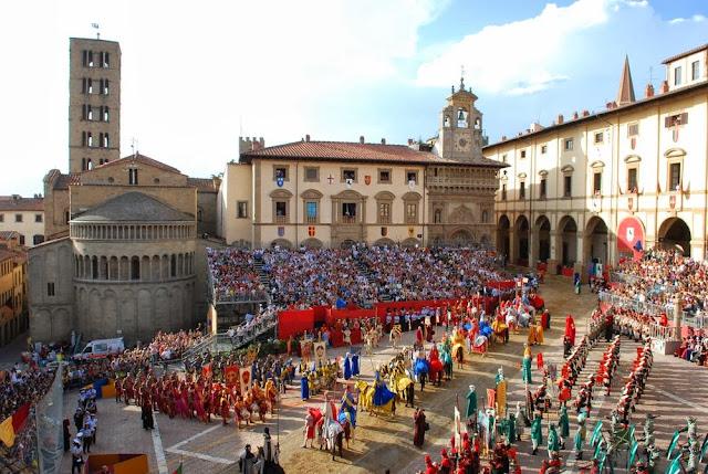 Inaugurazione Museo di Porta Santo Spirito: il. - Giostra del 37