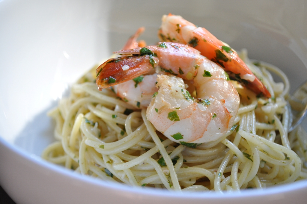 Basic Shrimp Scampi Recipe — Dishmaps