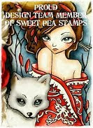 I'm on the Sweet Pea Stamps DT!
