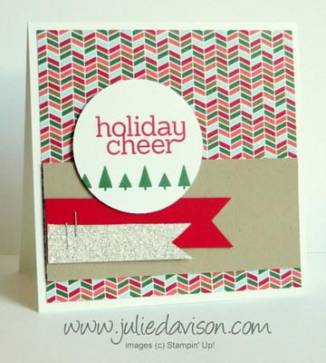 Stampin' up! Holiday Catalog: Cheerful Tags Card