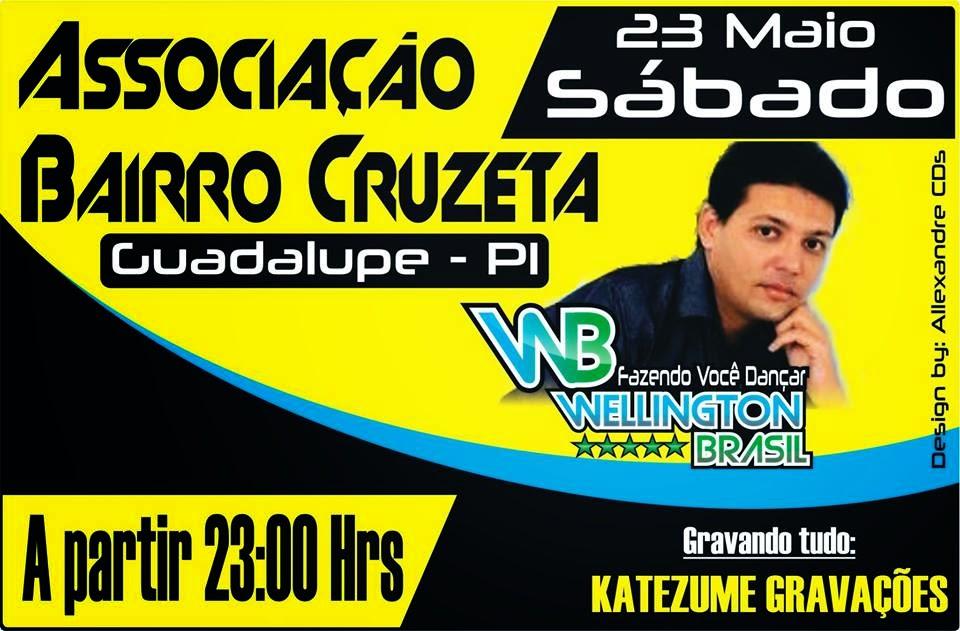 Wellington Brasil na Associação da Cruzeta