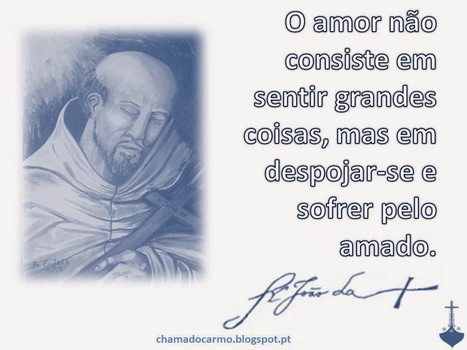 Chama Do Carmo Frase São João Da Cruz V