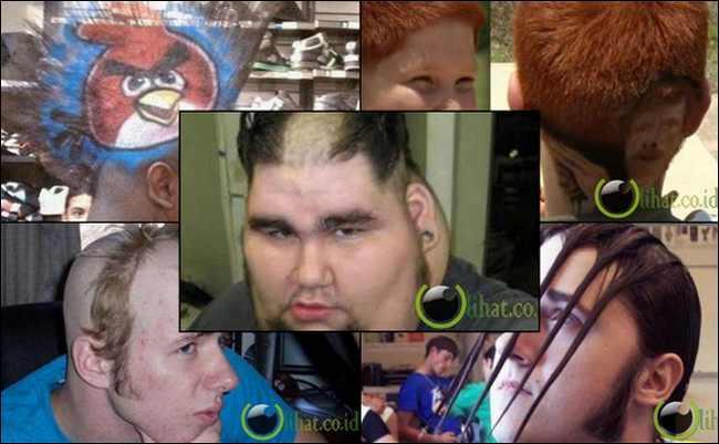 10 Potongan Rambut Terburuk di Dunia