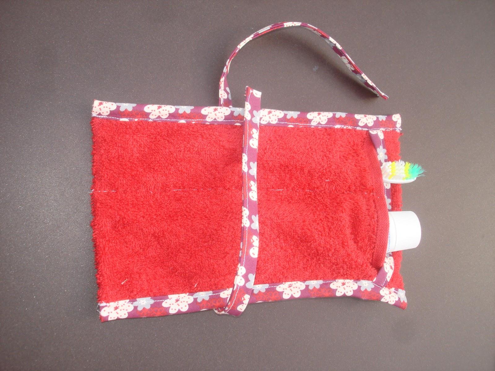 pochette brosse à dent une personne dentifrice sac ou trousse toilette
