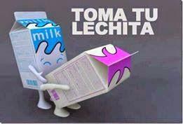 "Leche ""Toma tu lechita"""