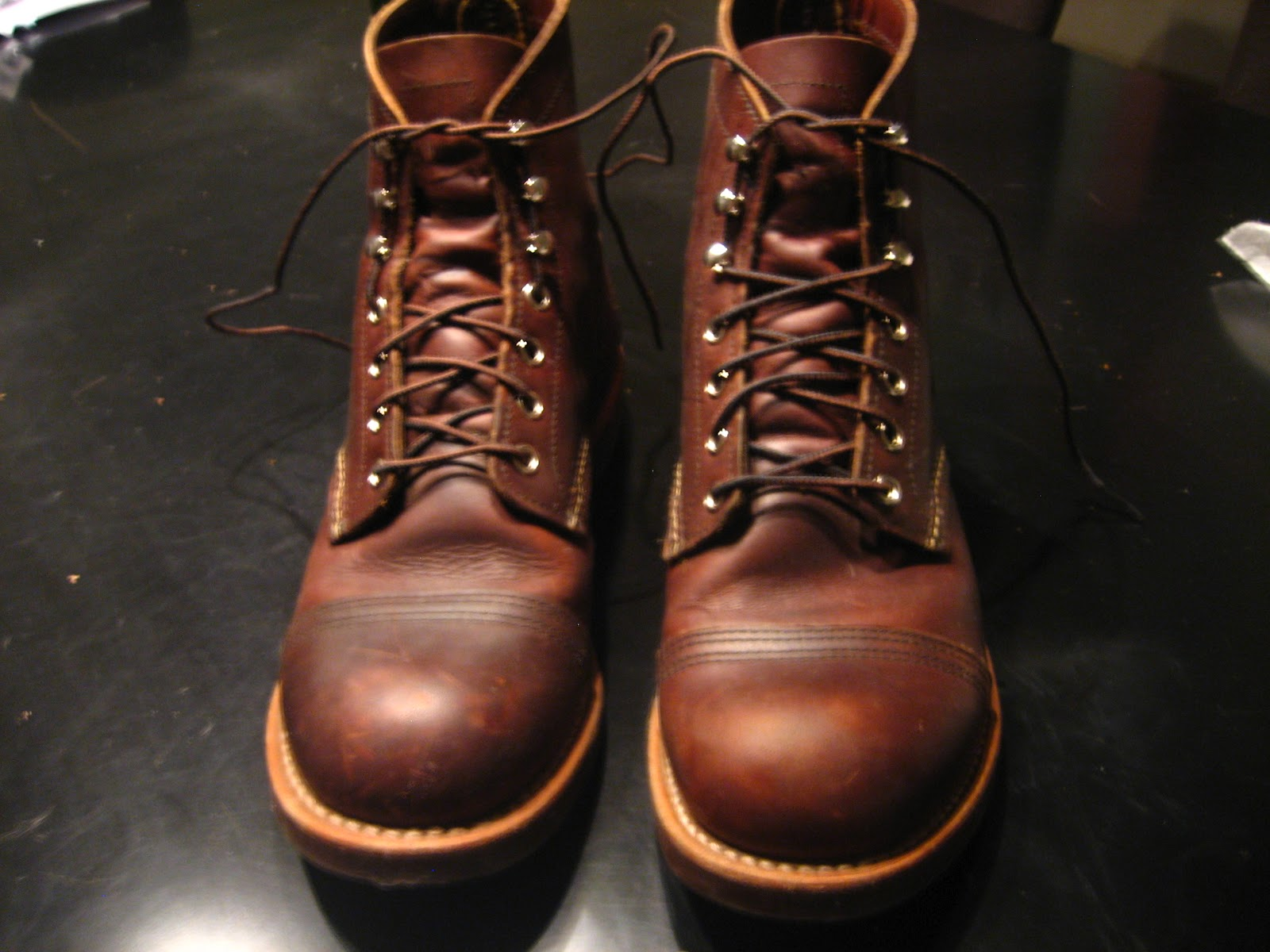 Week 1 And 2 Red Wing Iron Ranger Boot My Redwing Iron Ranger Boots