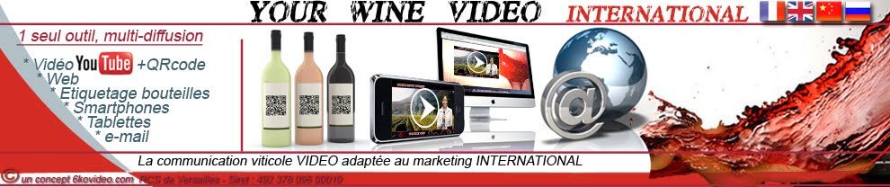 yourwinevideo, communication et marketing du vin Français en Chine, Russie, Corée