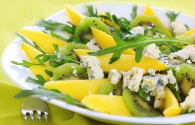 Embracing a Cancer Prevention Diet - Low fat diet - green salade