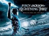 Percy Jackson and Lighting Thief movie poster