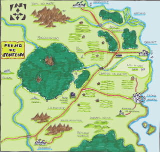 Nueva partida a Guerrero Picaro Mago:Cronicas de  Bosqueoscuro