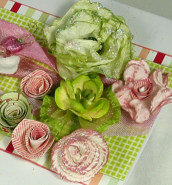 Kathy 39 s waffle flowers and flutterbyes for Creative edge flowers