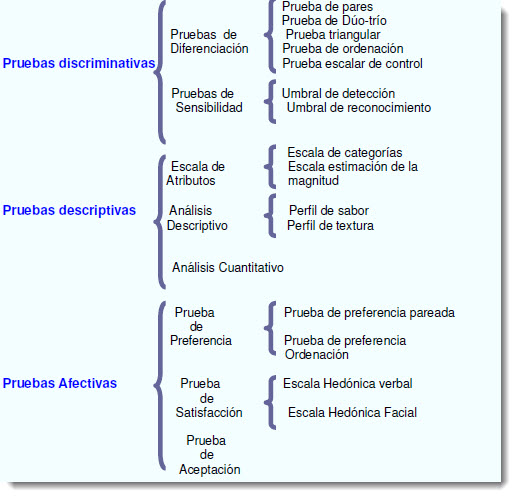 Pruebas Sensoriales