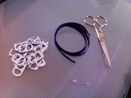 como hacer pulseras con anillas de latas paso a paso