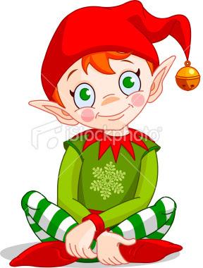 christmas elf wallpaper - photo #38