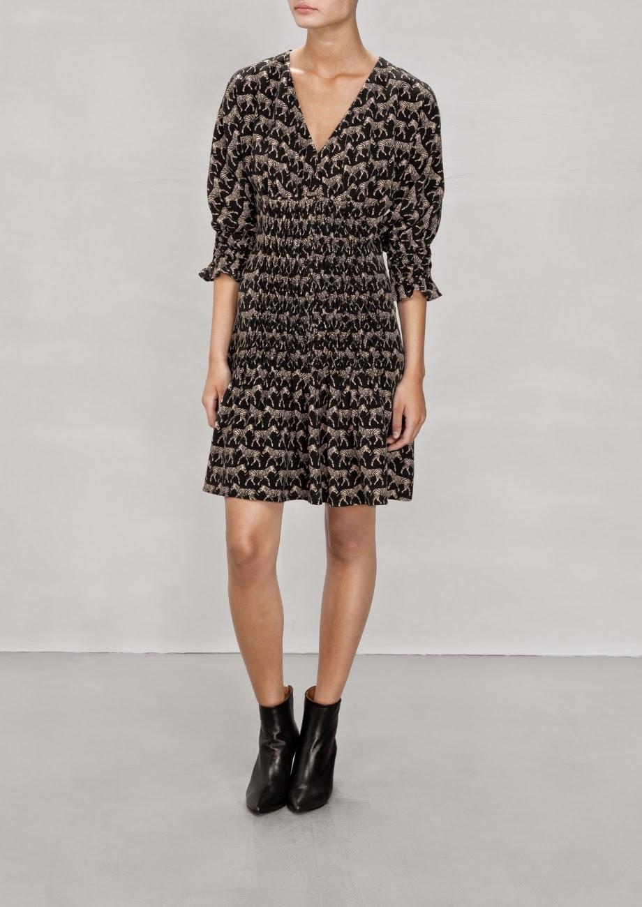 stories zebra dress