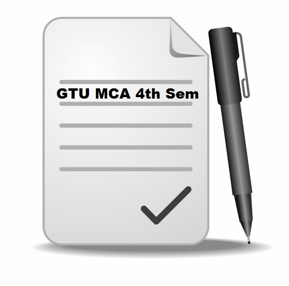 [Exam Paper] GTU MCA 4th Semester Question Papers
