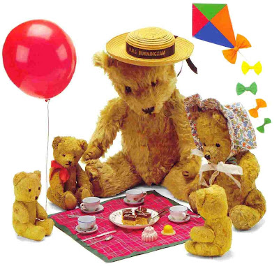 Teddy Bear family pictures to download freely