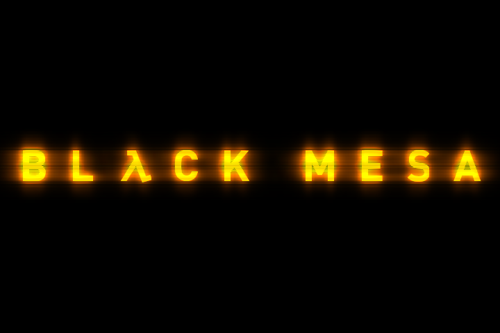 Half Life Black Mesa title screen logo