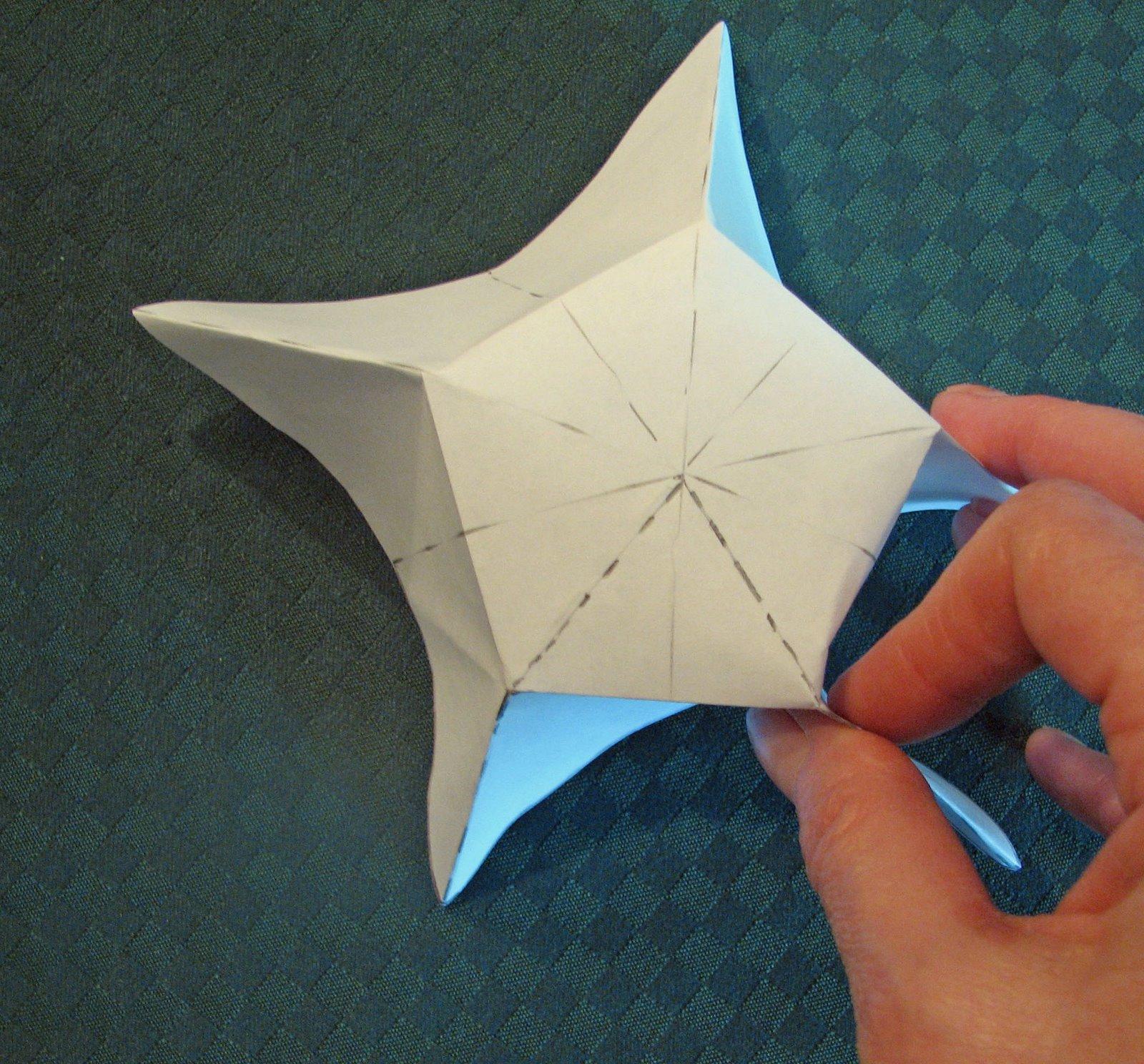 Как сделать звездочку своими руками поэтапно