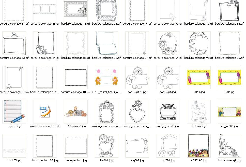 bordes y marcos de disney y navidad gratis todos en formato JPEG, para ...